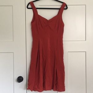 MODCLOTH • NWOT Red Pinup Dress size Medium